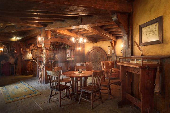 A cozy tavern near Hobbiton