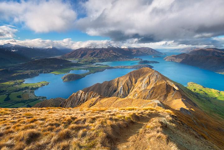 View towards mount aspiring National Park