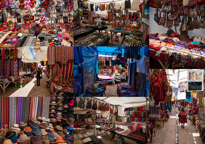 Photos from Pisac market