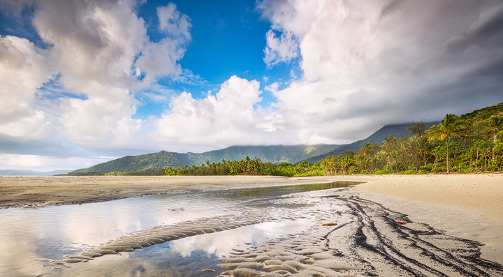 Morning light at Cape Tribulation beach