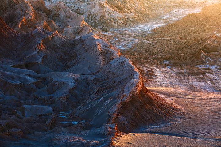 Valle de la Luna as seen from mirador de Kari