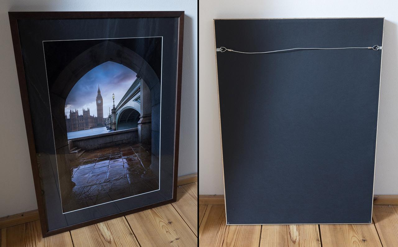 Framed Redbubble Print