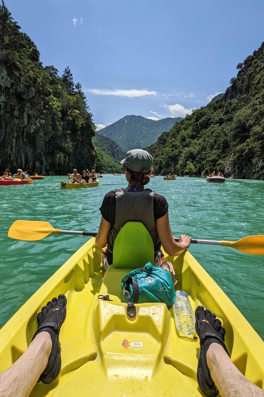 Verdon Gorge Kayak
